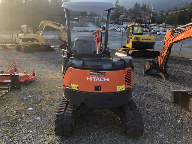 HITACHI ZX27U2 MINI EXCAVATOR  Harbour City Equipment