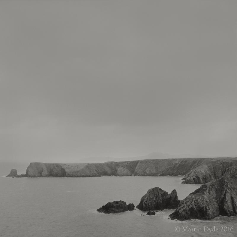 Cliff study 1, Pen Castell-coch, Abercastle