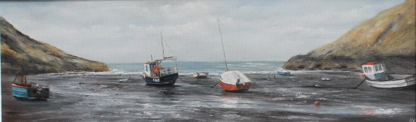 Sheila Craft - Low tide, Abercastle