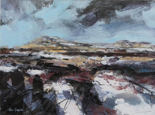 Jan Gregson - the thaw, garn fawr