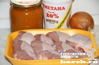 kurica v kabachkovoy ikre 8 Курица в кабачковой икре