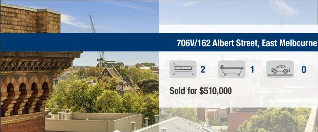706V/162 Albert Street, East Melbourne Sold