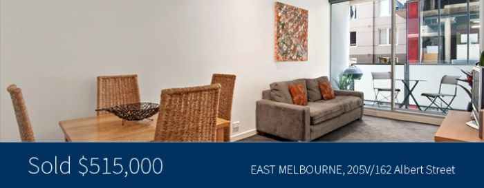 205V/162 Albert Street, East Melbourne - Tribeca - Harcourts Melbourne City