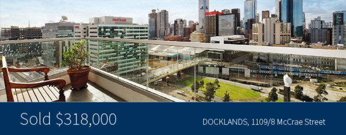 1109/8 McCrae Street, Docklands - Harcourts Melbourne City