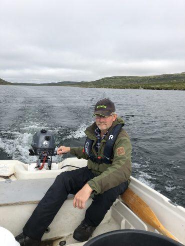båt over hettefjorden