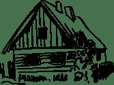 illustrasjon hytte hardangervidda