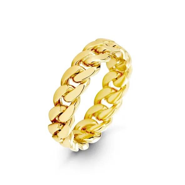6mm Cuban Link Ring