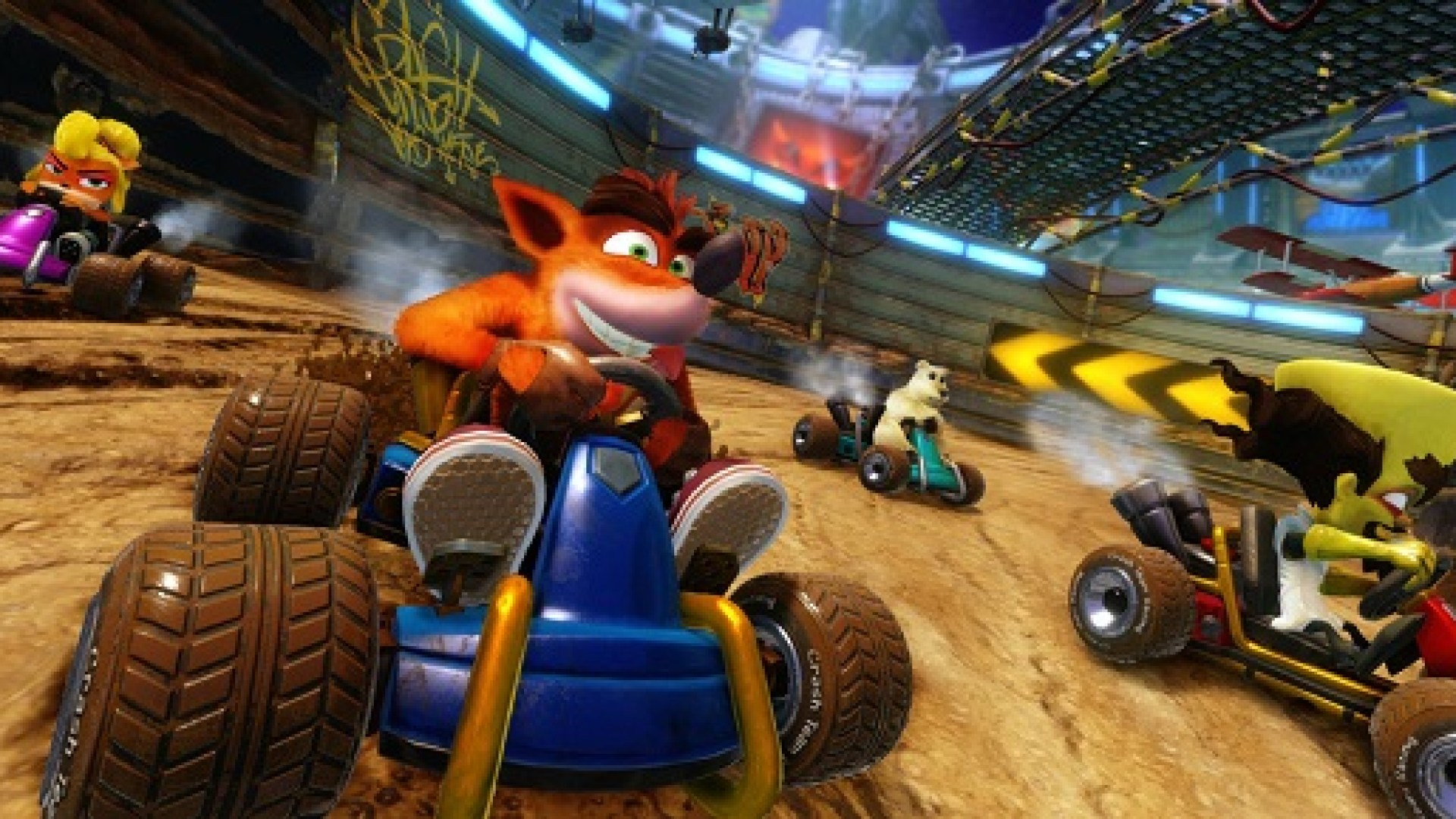 Crash Team Racing Nitro-Fueled Announced for PS4, Xbox One, Switch