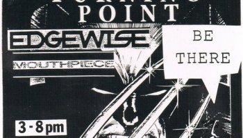 Hardcore Show Flyers – Turning Point-Edgewise-Etc @ Unisound