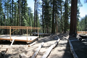 Tent Cabin Sites and Trails