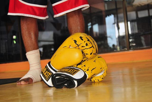Gloves Boxing Boxer Sport Exercise Fitness