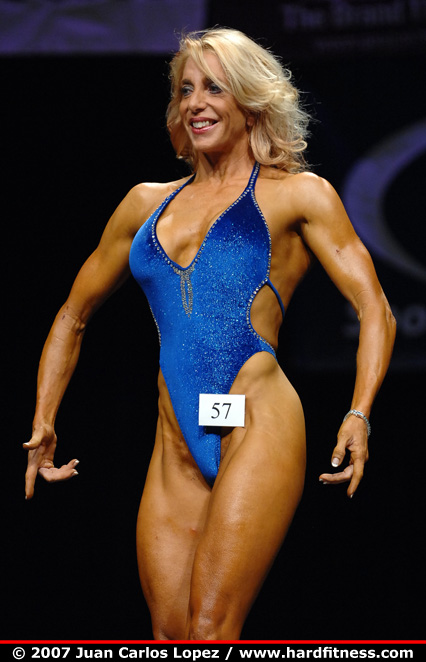 Samantha Steele  onepiece  2007 San Francisco Figure and Bodybuilding Championships
