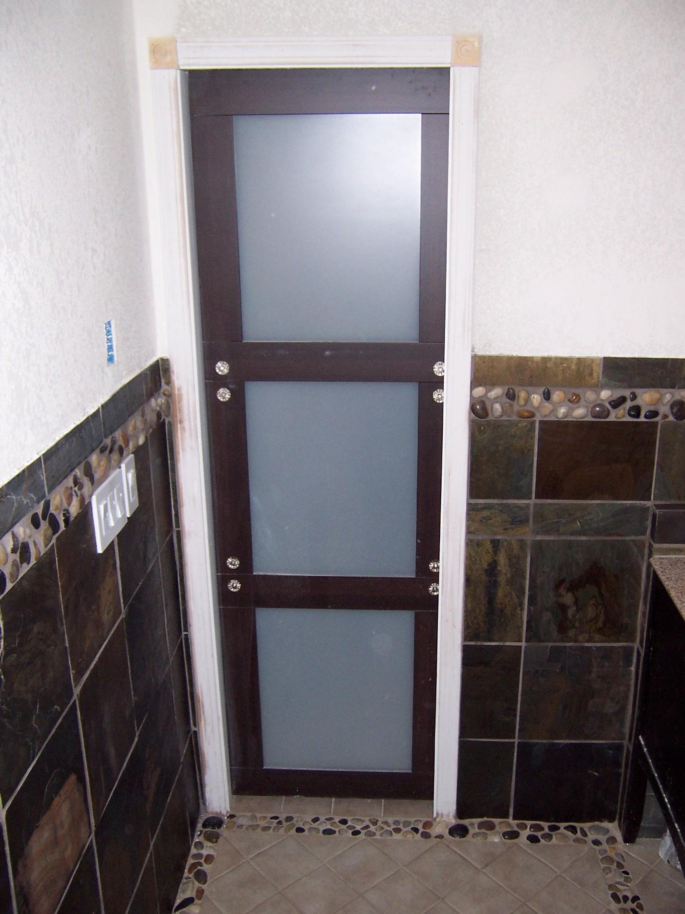 Door Bathroom  An Easy u0026 Inexpensive Way To Update