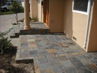 Slate Tiled Steps With Porch | Hardhat13