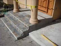 Slate Tiled Steps With Porch Hardhat13