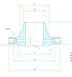 orifice flange dimensions [ 2200 x 1700 Pixel ]