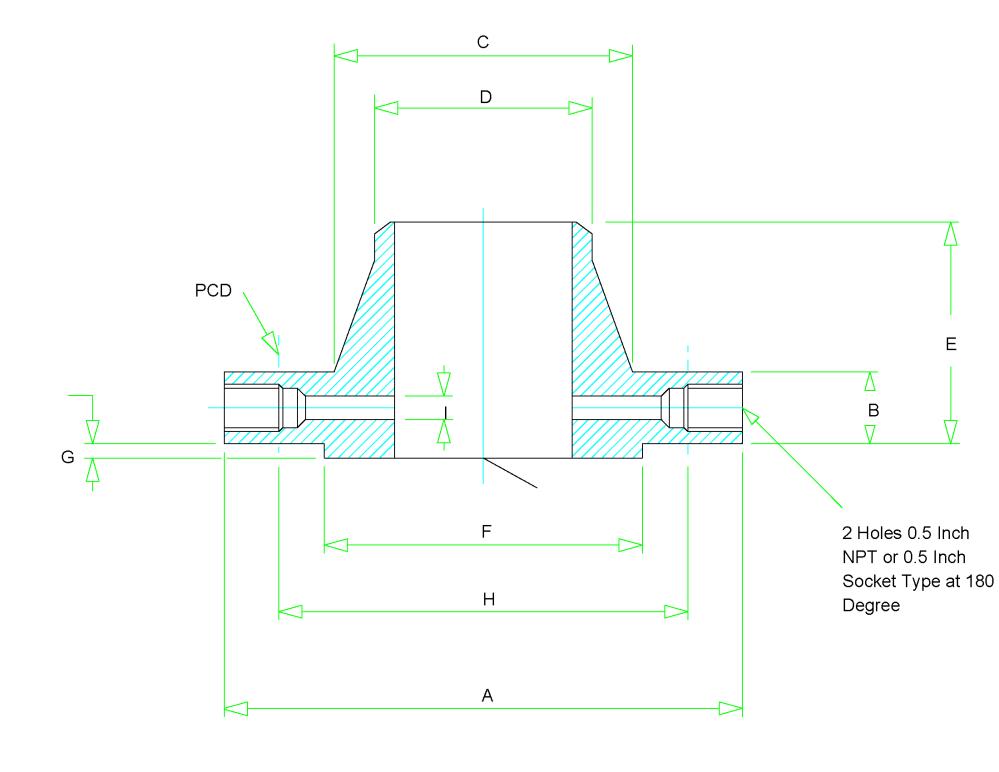 medium resolution of orifice flange dimensions
