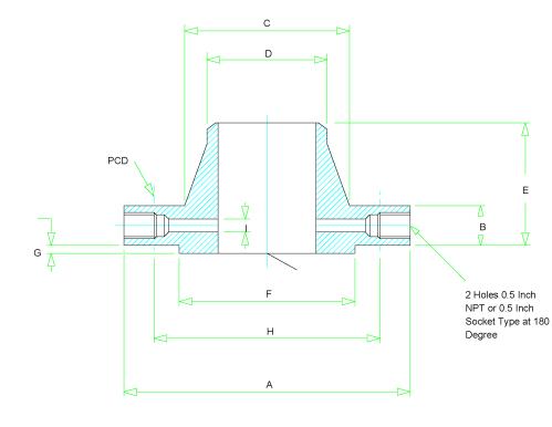 small resolution of orifice flange dimensions