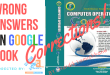 Wrong Answers on Computer Operator Google Books | सहि उत्तर सहित ।