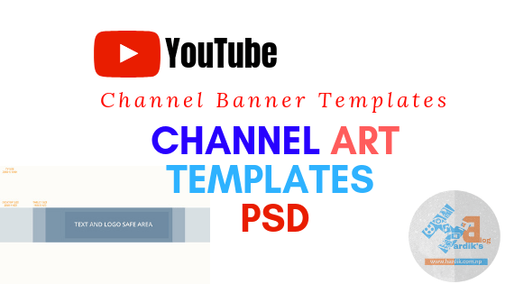 Youtube Channel Art Template PSD | Youtube Banner Template Download