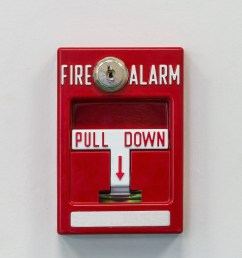 wall mounted fire alarm pull switch for activating fire fighting system [ 3352 x 2736 Pixel ]