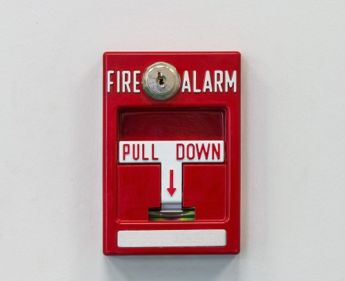 small resolution of wall mounted fire alarm pull switch for activating fire fighting system