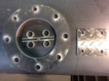 """5/8"""" Aluminum Flanges"""