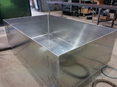 Aluminum Fuel Tank Bund