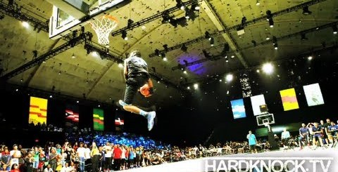 Best Dunker in the world: Justin Jus Fly Darlington (Dunks + Interview) By Nick Huff Barili hard knock tv hard knock hoops