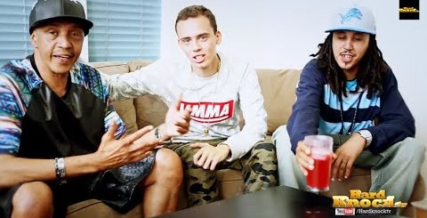Logic talks to Father + Brother about Not Following Them Into Street Life, Addiction interview by Nick Huff Barili hard knock tv