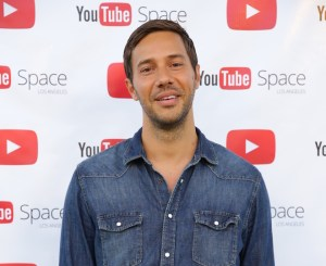 Nick Huff Barili Red Carpet at Youtube Space for Canon Bringit Campaign