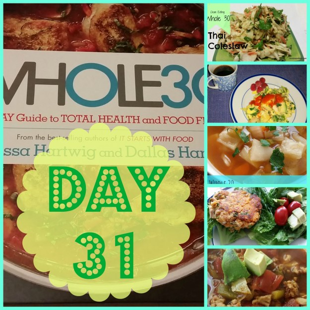 whole 30 day 31
