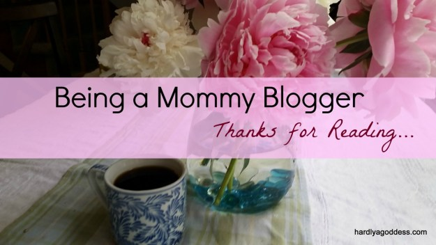 mommy blogging