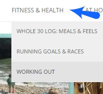 blog contents fitness