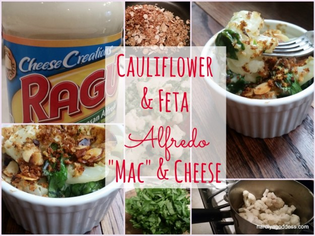 "Cauliflower & Feta ""Mac"" & Cheese"