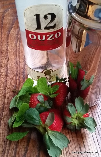Ouzo- for the Ouzito | Hardly A Goddess
