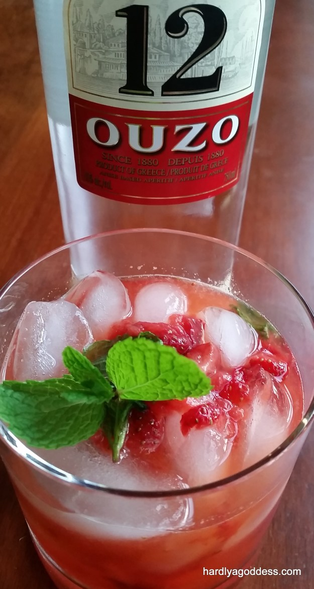 Ouzito: The Greek Mojito #SundaySupper