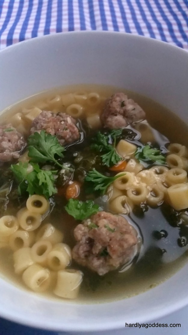 Italian Wedding Soup #SundaySupper