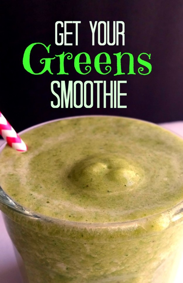 Smoothie: Get your greens!