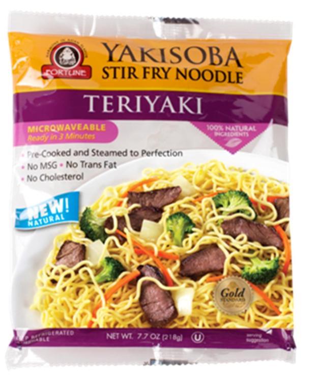 Teriyaki SG Fortune Noodles
