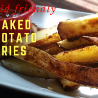 Kid-Friendly Baked Potato Fries #SundaySupper