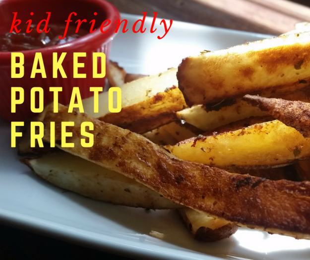 Kid-Friendly Baked Potato Fries