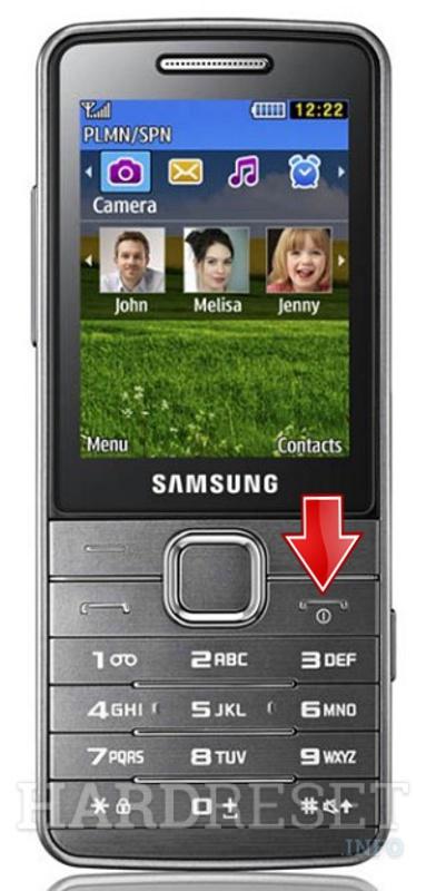 Lupa Kata Sandi Hp Samsung : sandi, samsung, Reset, SAMSUNG, S5610,, HardReset.info