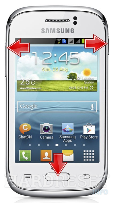 How to root Samsung Galaxy Young GT S6310 without PC