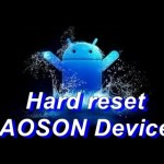 How to Reset AOSON