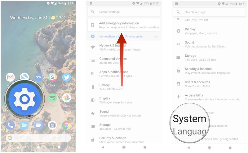 factory reset your Android phone