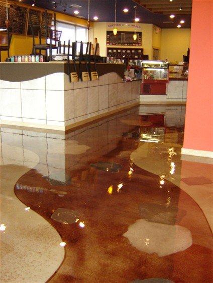 Epoxy Floor Portfolio Restaurants Commercial Kitchens