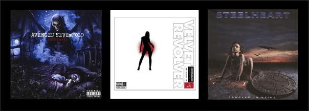 Three For Thursday - Avenged Sevenfold, Velvet Revolver, Steelheart