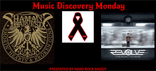 Music Discovery Monday - Shaman's Harvest, Revolve, RJD Cancer Fund