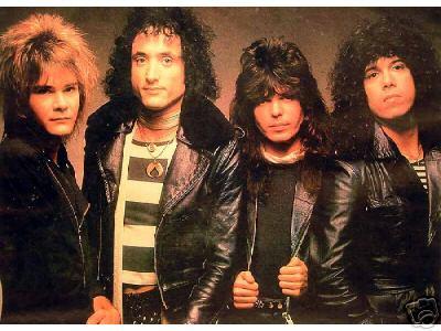 Quiet Riot lineup circa 1983